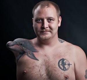 Melhores tatuagens de golfinhos fotos