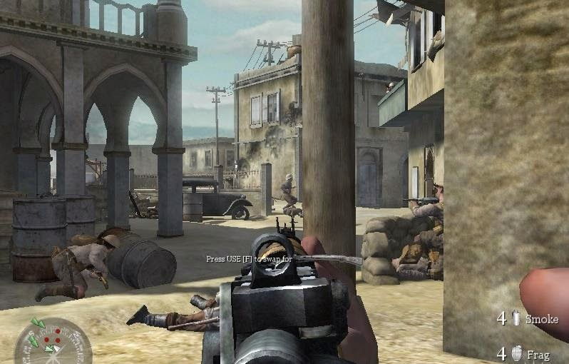 Gameplay Call Of Duty 2