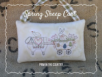 Spring Sheep Cart Pattern $3.00