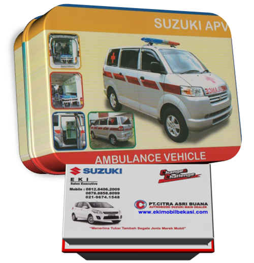 Paket Ekonomis Suzuki APV Ambulance 2014