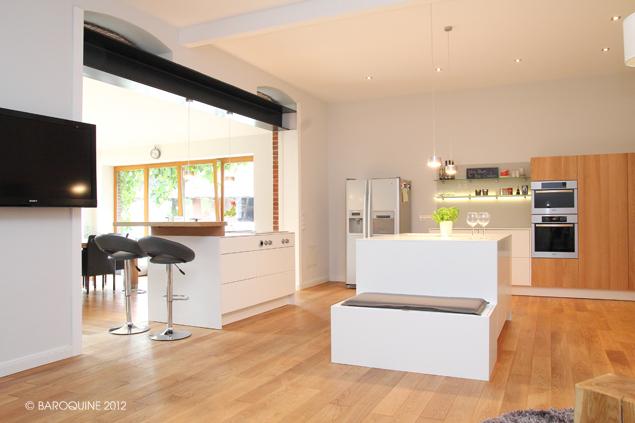 baroquine k che 50 qm entwurfsumsetzung. Black Bedroom Furniture Sets. Home Design Ideas