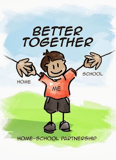 home and school connection image