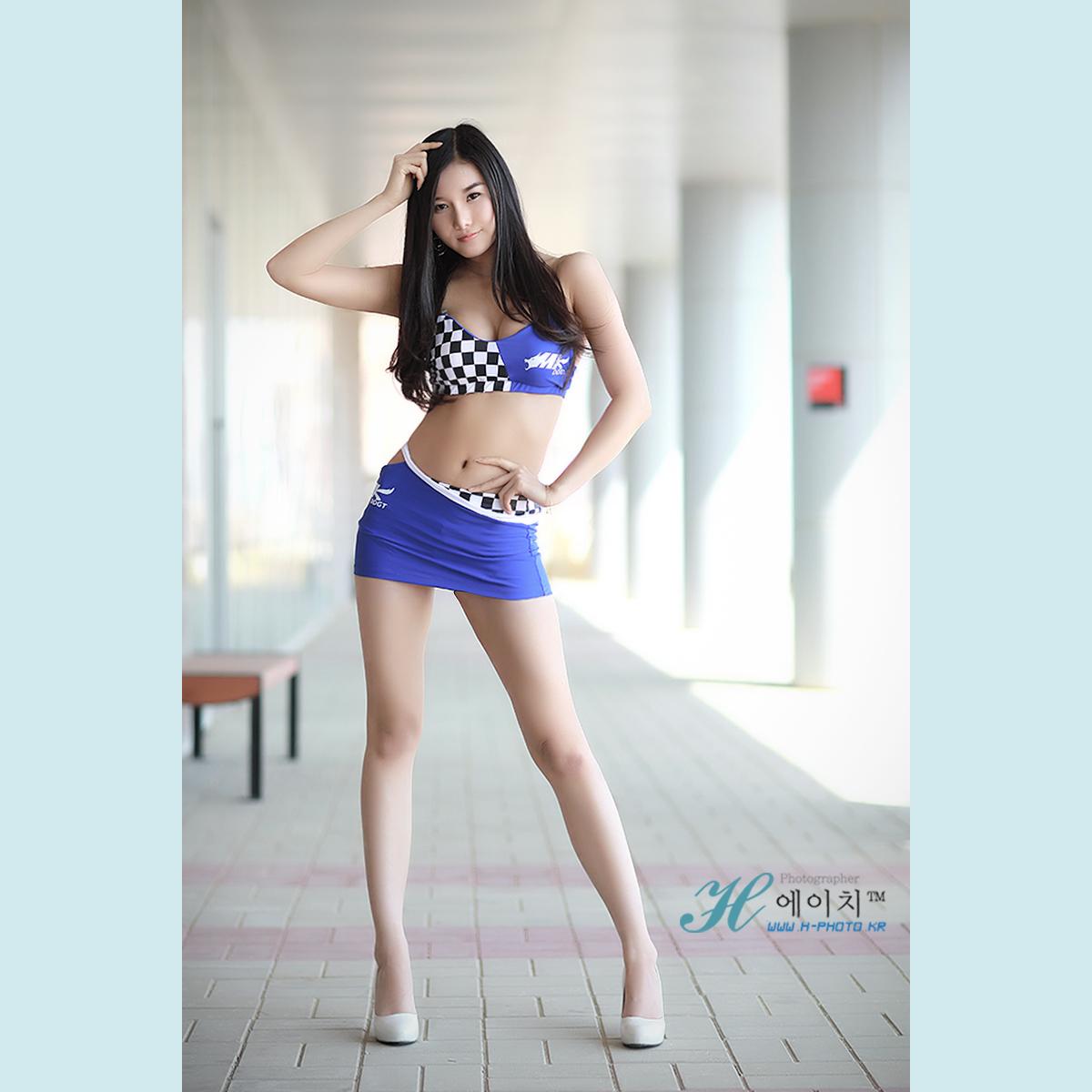 Sexy Korean Race Girl Han Song I