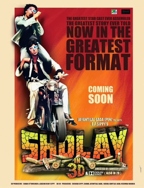 Sholay 3D 2014 Official Trailer 720p HD