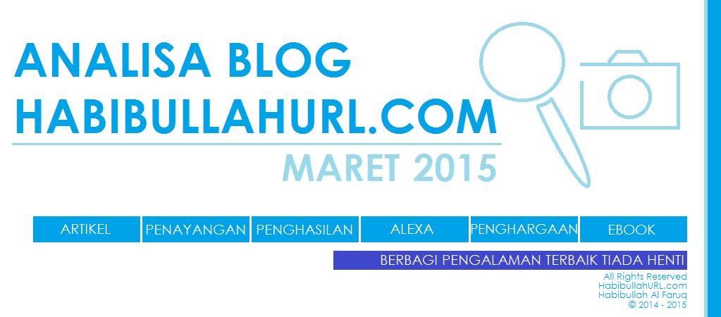 Analisa HabibullahURL Maret 2015