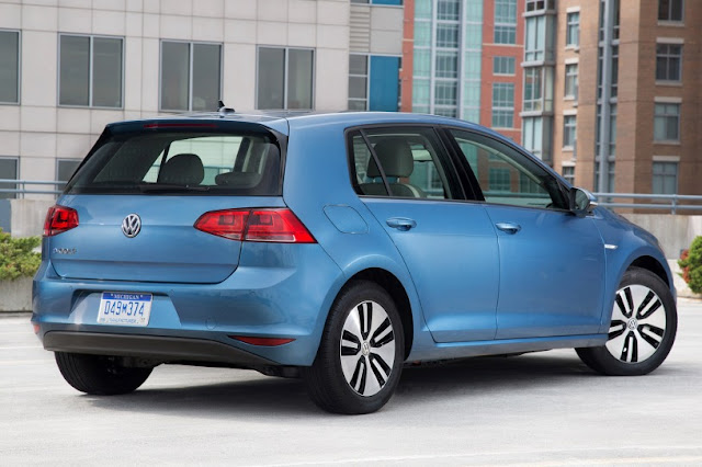 2015 Mew Volkswagen eGolf Electric cars back view