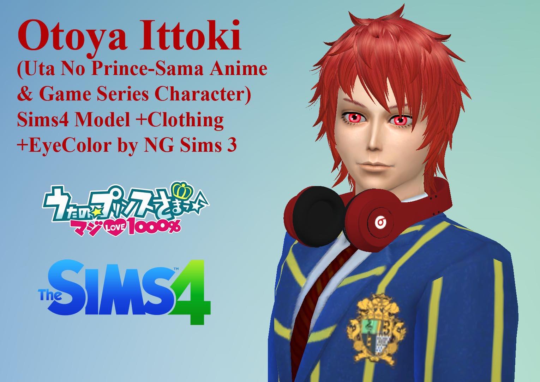 Sims 4 Anime Characters : Ng sims otoya ittoki uta no☆prince sama♪ ts
