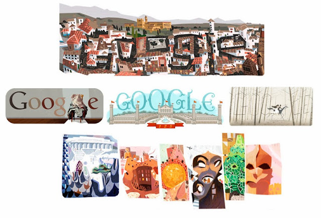 Alhambra, Gaudí, Antoni Tapies, Expo Barcelona, Federico García Lorca
