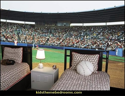 Superior Baseball Bedroom Decorating Ideas Decor Boys Theme Bedrooms Room