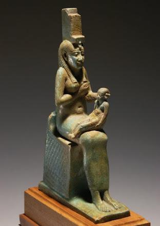 Isis: esposa y viuda de Osiris, madre de Horus