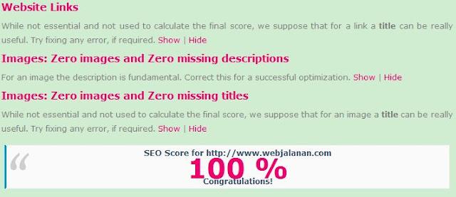 Membuat website 100% SEO
