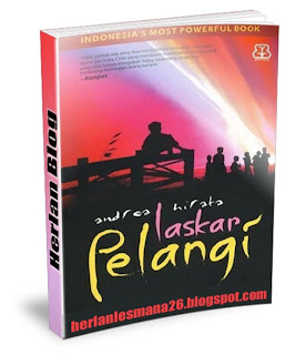 Novel Laskar Pelangi - Herlan Blog