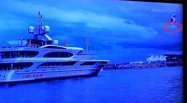 Siaran TV HD dari Singapore