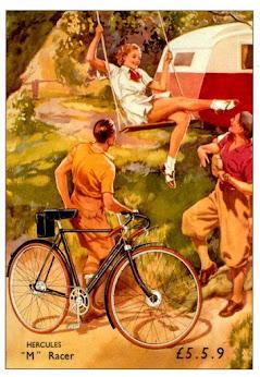 Carteles Vintage Bicicletas