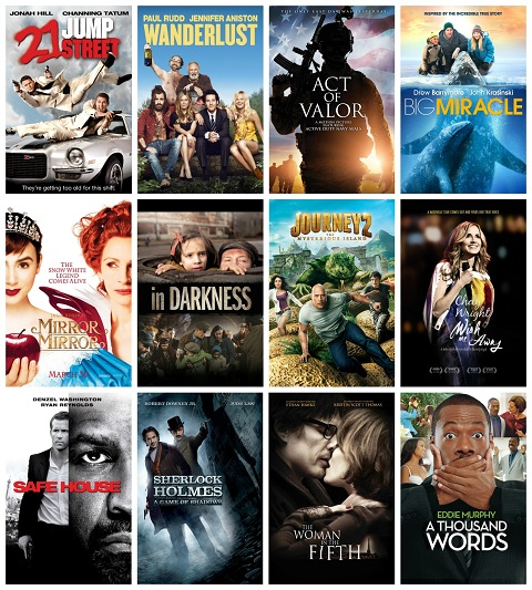 summer movies 2012