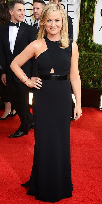 Amy Poehler, Golden Globes, fashion, red carpet, awards show