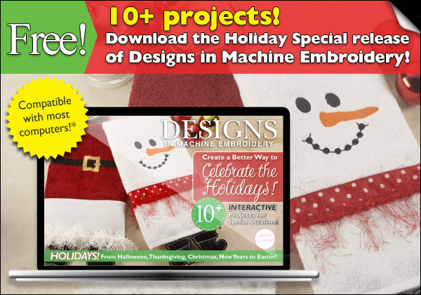 Free Machine Embroidery Designs Projects