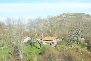 Cangas de Onís, ruta vega de Orandi, cabañas de Bastañar