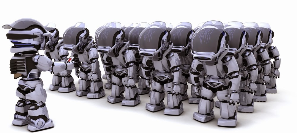 Robot 'Army'Can Swarm Into 3D Formations