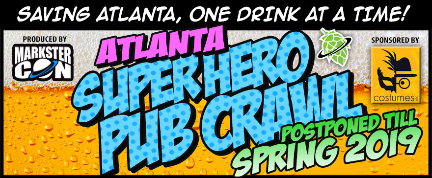 Atlanta's Super Hero Pub Crawl