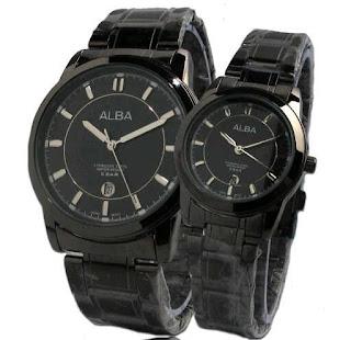 jual jam tangan couple murah alba rantai 100 ribuan
