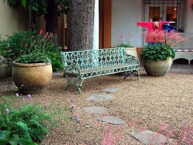 Bench, Santa Fe, New Mexico