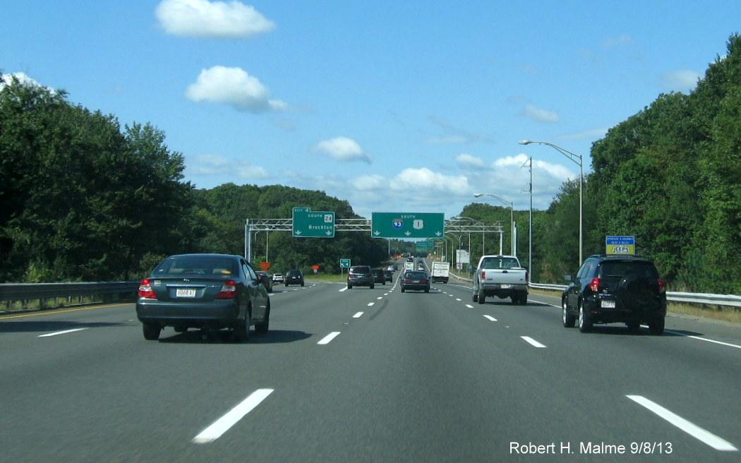 Interstate 93 Signing Work