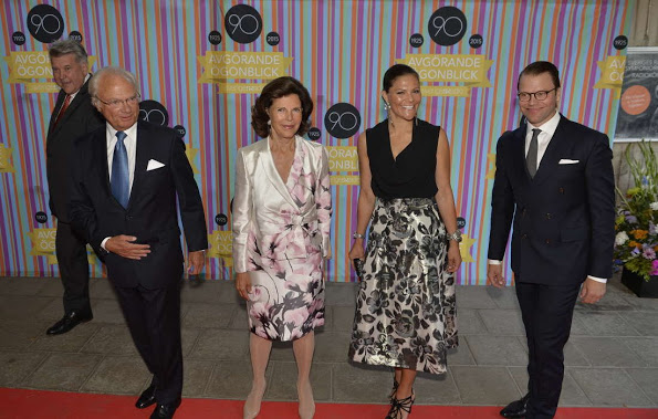 Swedish Royals Attended Radio Sweden's 90th Anniversary Celebrations