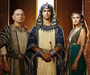 Ben Kingsley, Avan Jogia and Sibylla Deen, stars of Spike TV's Tut