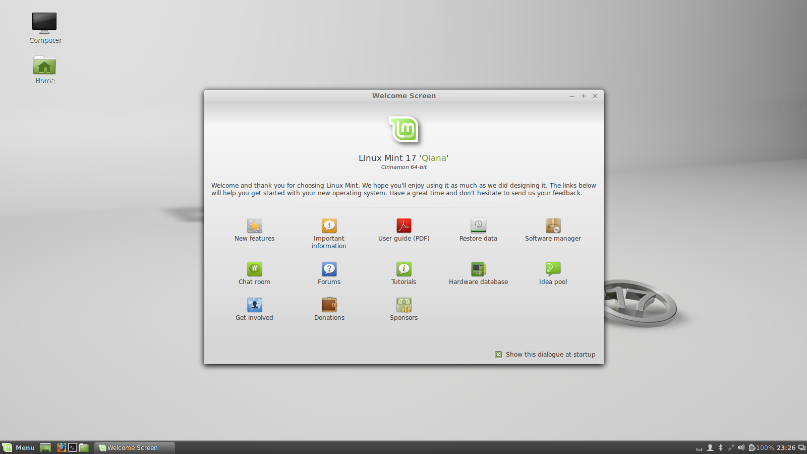 Описание пошаговой инсталяции linux mint