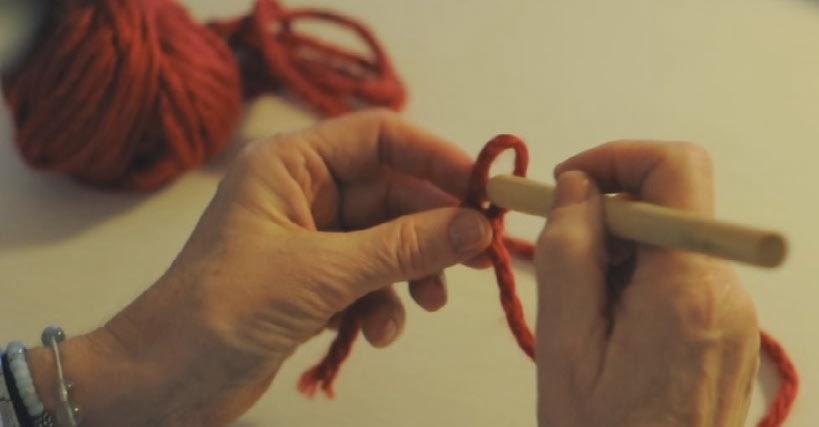 Punto de crochet Cadeneta