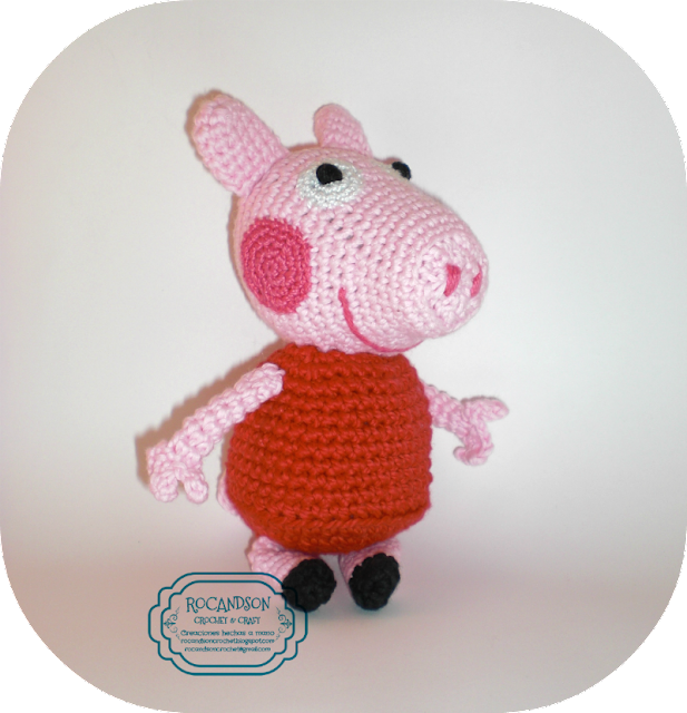 Como Tejer A Crochet A Pepa Pig Paso A Paso | Black Hairstyle and