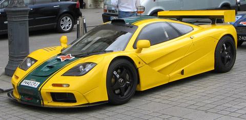 Carros mais caros do mundo em 2013 McLaren F1
