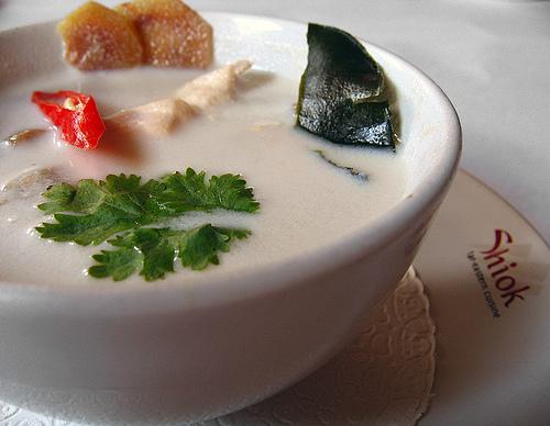 Cooking Thai Food With Mali: Thai Coconut Soup: Tom Kha Gai