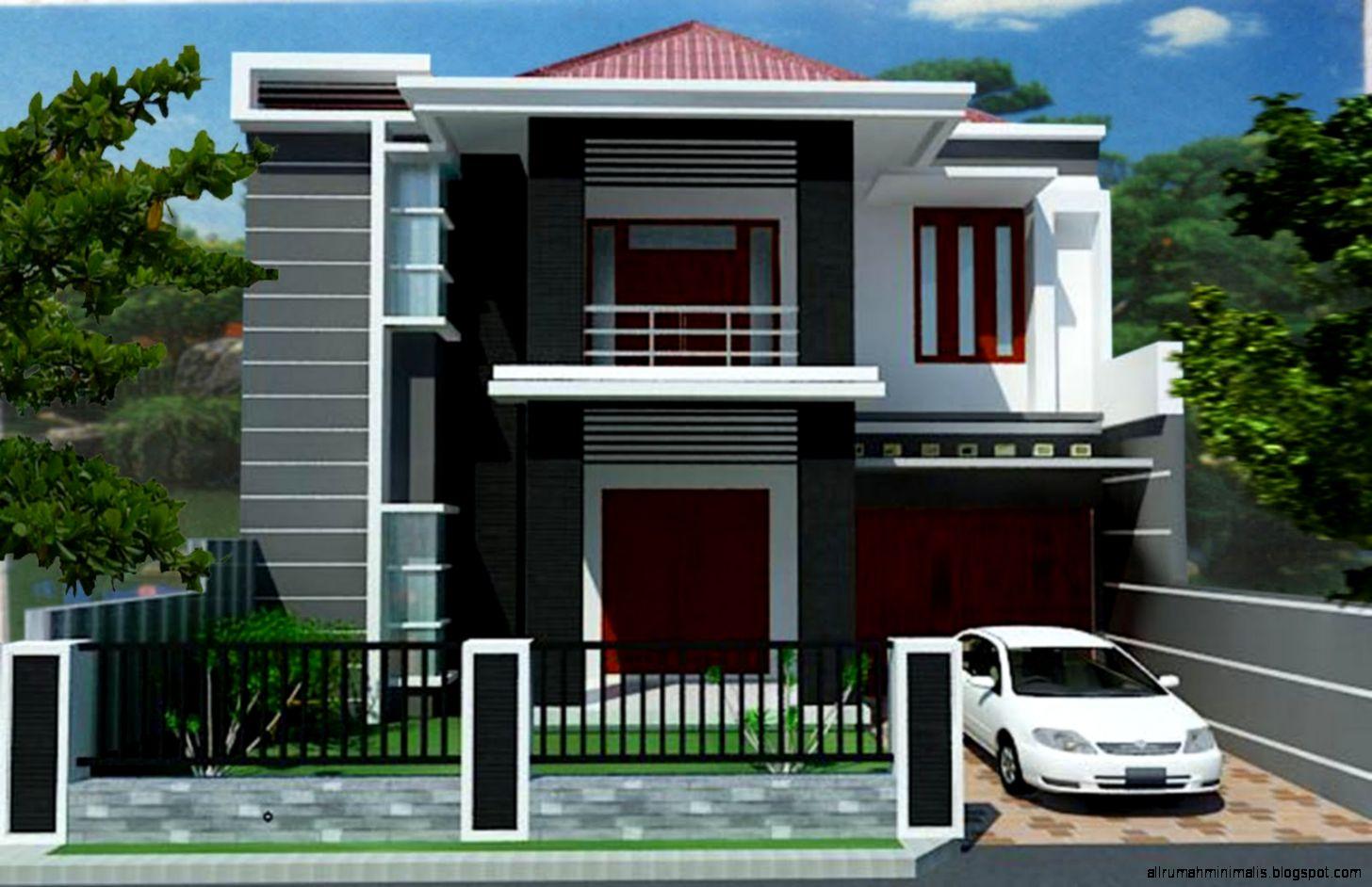 Desain Rumah Minimalis 2 Lantai Type 45   Rumah minimalis 2015