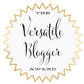 Nominada a los VERSATILE BLOGGER
