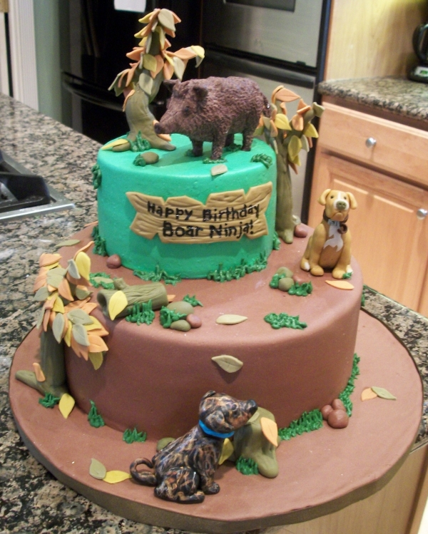 Deer Hunting Cake Ideas For Kids 36690 Special Day Cakes H