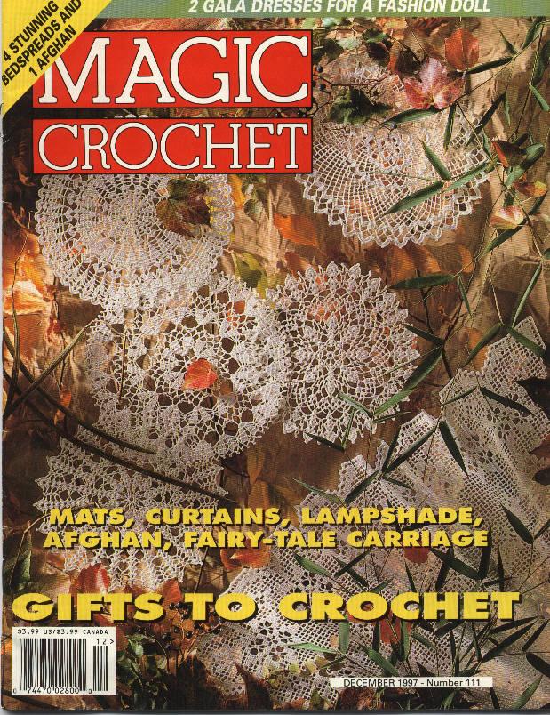 Magic Crochet No. 111 ~ Free Crochet Patterns