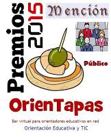PREMIOS ORIENTAPAS 2015. MENCIÓN DEL PÚBLICO