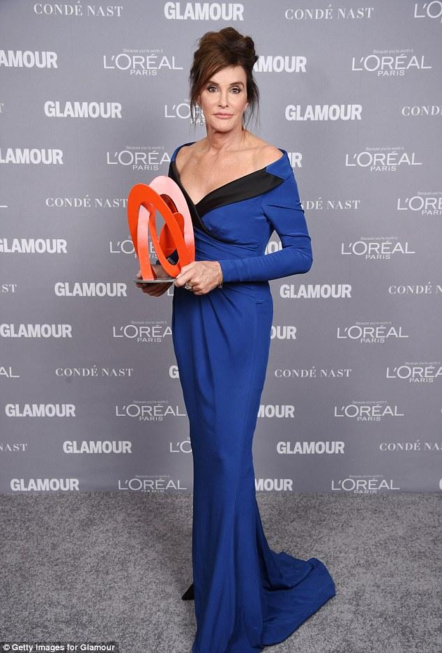 Caitlyn Jenner Glamour Award
