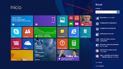 Поиск принтера в Windows 8.1
