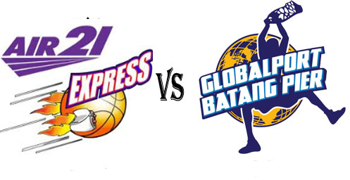 Watch Globalport Batang Pier vs Air21 Express Live Stream