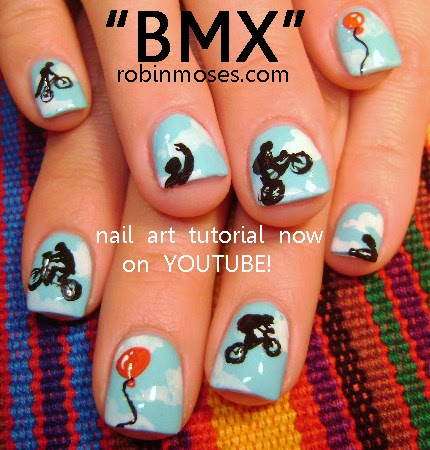 "robin moses nail art ""bmx nails"""