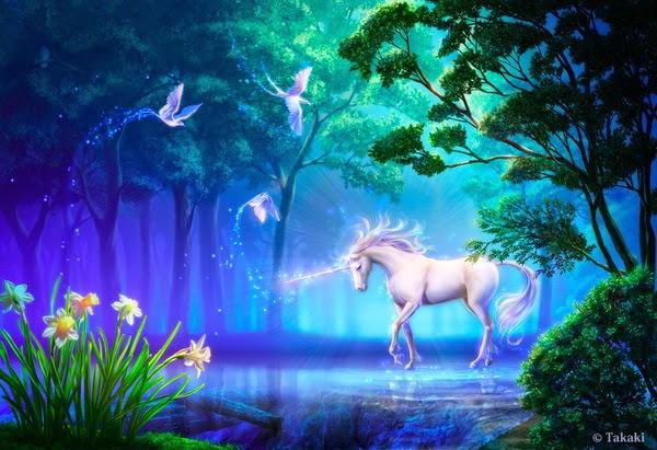 Tarot Con Blanca El Unicornio Un Ser Mágico