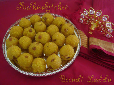 How to prepare boondi laddu