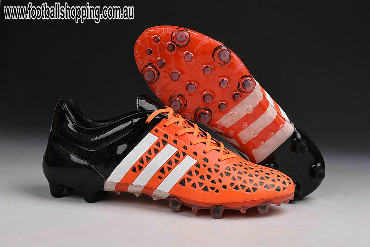 newest 3f81b 2d9cb Cheap Adidas ACE 15.1 FG AG Solar Orange Black White. We feel it in the  air. Vacations will soon be ever and it looks like part of 2015 football  boots ...