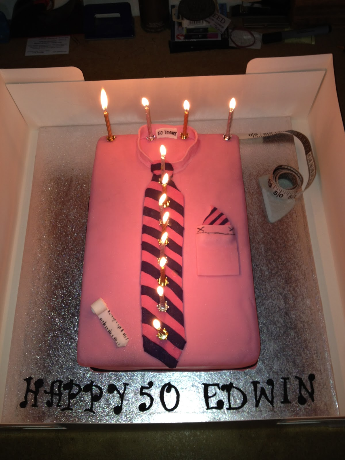 50th birthday cake ideas for dad