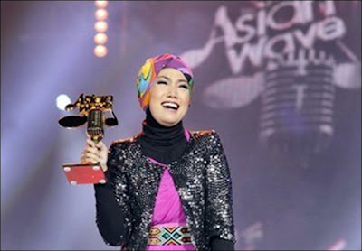 Shila Amzah Juara Asian Wave