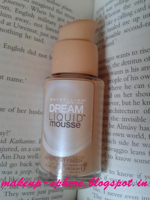 Maybelline Dream Liquid Mousse Review in Medium 2: Pure Beige