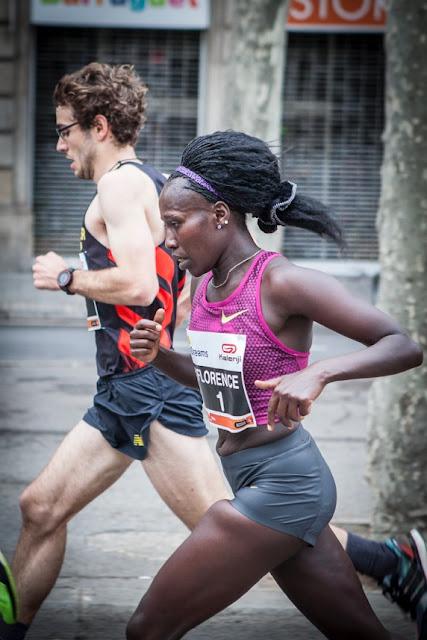 Florence Kiplagat en Mitja Marató BCN